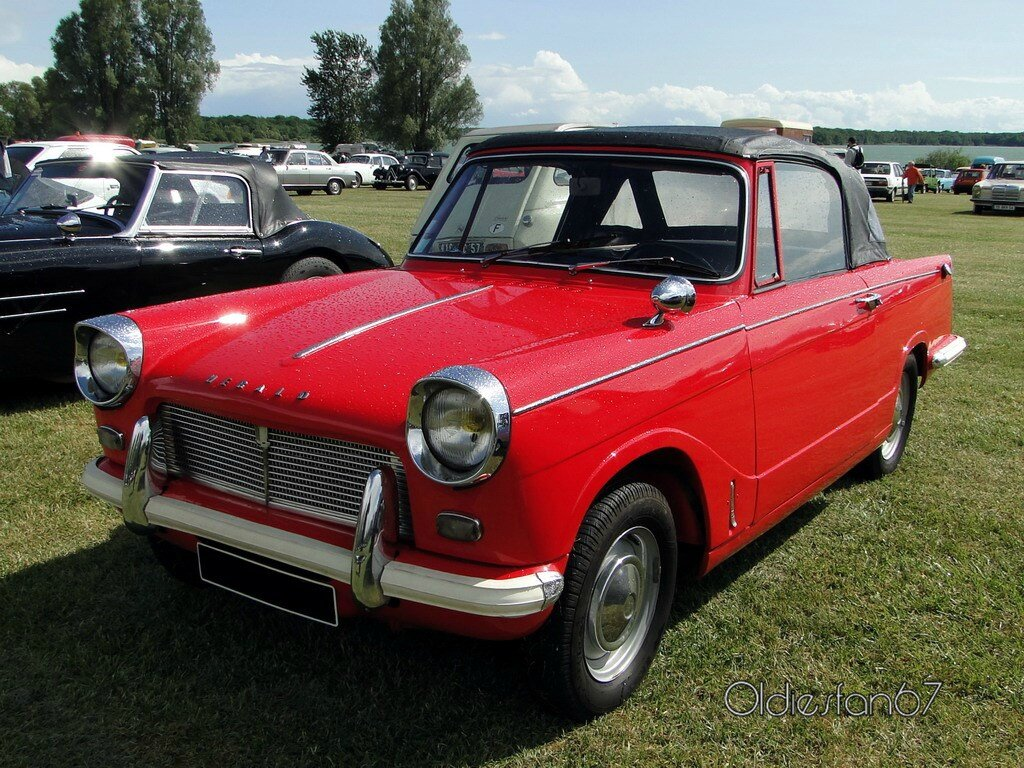 Triumph Herald 1200 Cabriolet 1961 224 1967 Oldiesfan67