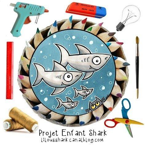 logo projet enfant shark 2017
