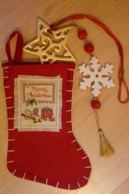 Echange de Noël pour Fanie46 (Forum Anne -les-petites-croix)