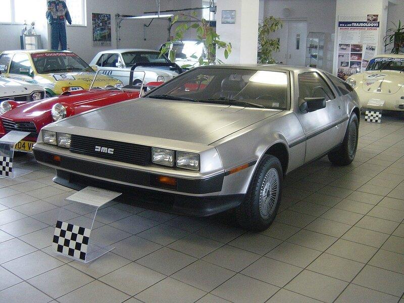 1280px-Sports_Car_Museum_Lány_-_1981_De_Lorean_DMC-12_(front)