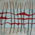 Bâton Traits rouge