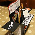Card in a box piano - profil