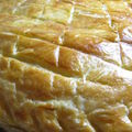 Galette des Rois frangipane, poire et ppites de chocolat...