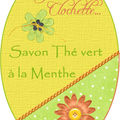 savon the vert a la menthe