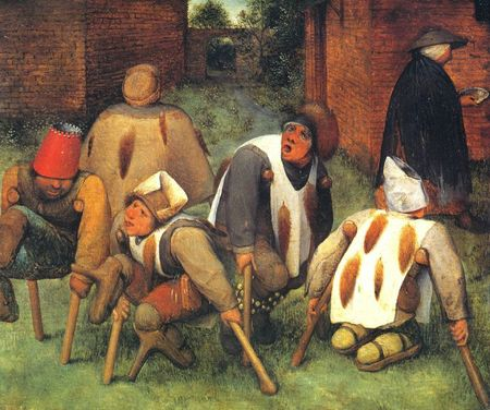 Mendiants - Brueghel