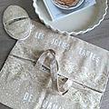 Cadeaux home-made écolo #2 le sac à tarte