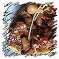 Estouffade provençale à la savoyarde et bourguignonne en cocotte minute