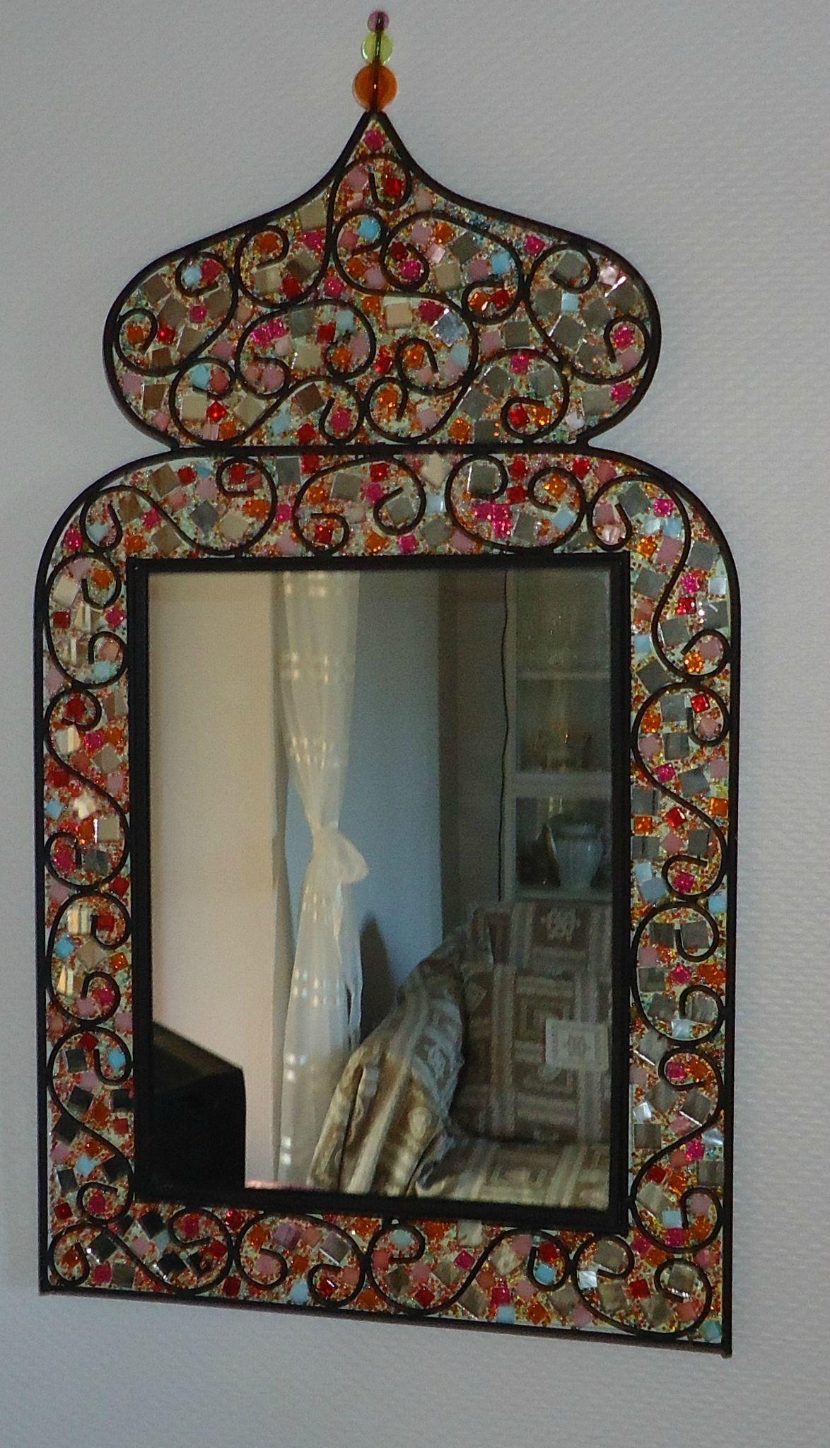 Miroir oriental bijoux et miroirs de marie for Miroir oriental