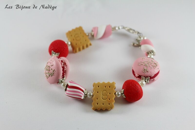 bracelet mariée gourmande