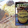 Râble de lapin à la moutarde violette et aux figues