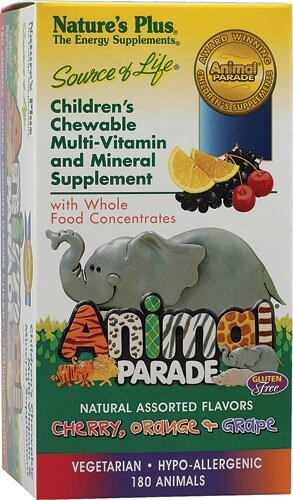 Natures-Plus-Animal-Parade-Childrens-Chewable-Multi-Vitamin-and-Mineral-Assorted-097467299825