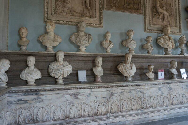 Palais nouveau, musées du Capitole