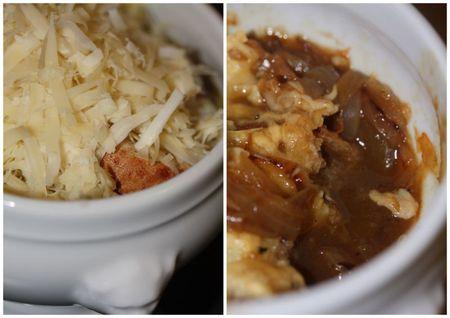 soupe à l'oignon gratinée blog chez requia