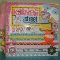 Album kawaii street a4