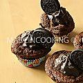 Cupcakes oreo- cupcakes tout choco oreo