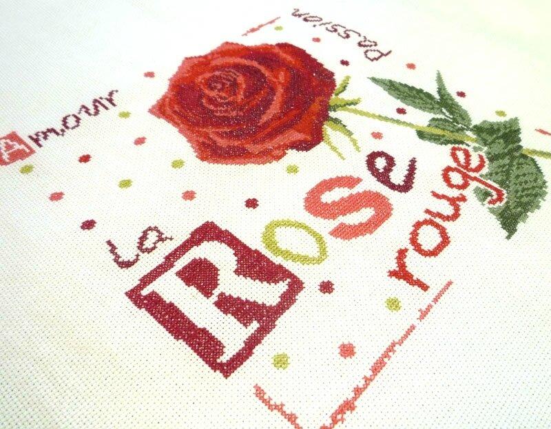 J015 La rose rouge (2)