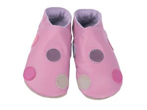 soft_leather_baby_shoes__classic_polka_dots_in_multi_colours_on_rose_shoes_-1065