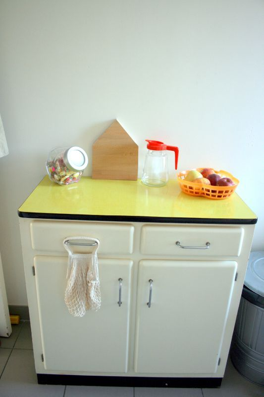 Excellent customiser un meuble de cuisine en formica tags buffet vintage formica secretaire with - Decirer un meuble ...