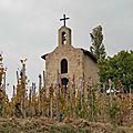 La chapelle de l'Hermitage, appartenant au domaine Jaboulet