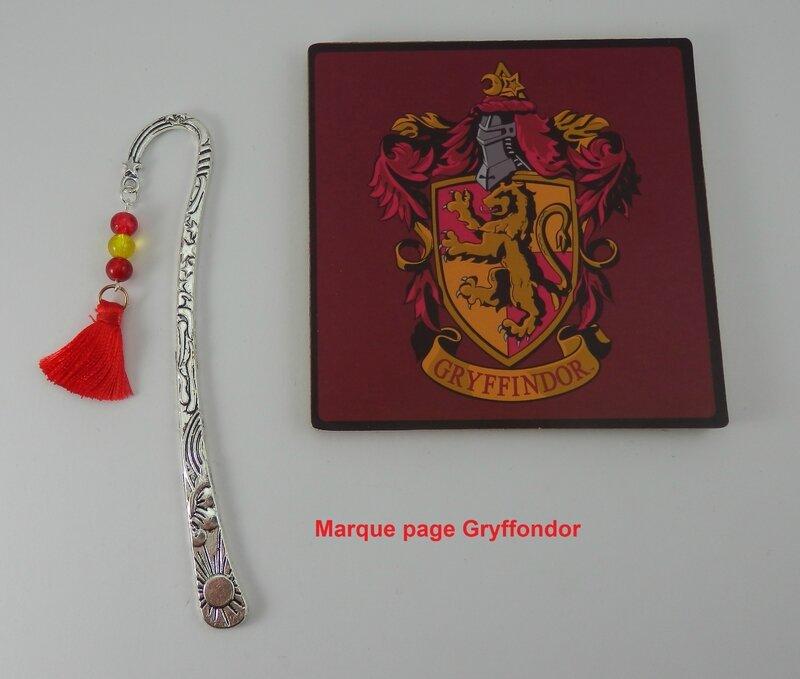 Marque page Gryffondor
