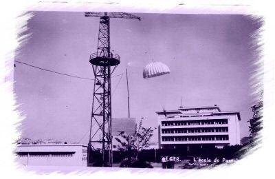 Alger__cole_de_parachutage_
