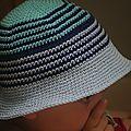 Crocheter un chapeau de plage