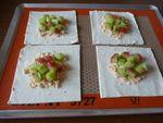 Paniers feuilletés rhubarge & gelée de groseilles (6)