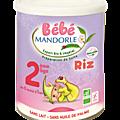Bébé mandorle, un lait infantile bio et végétal
