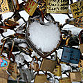 Cadenas, Pont des arts, Neige_7686