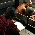 Ecole des moines - Mandalay - Myanmar (Birmanie)