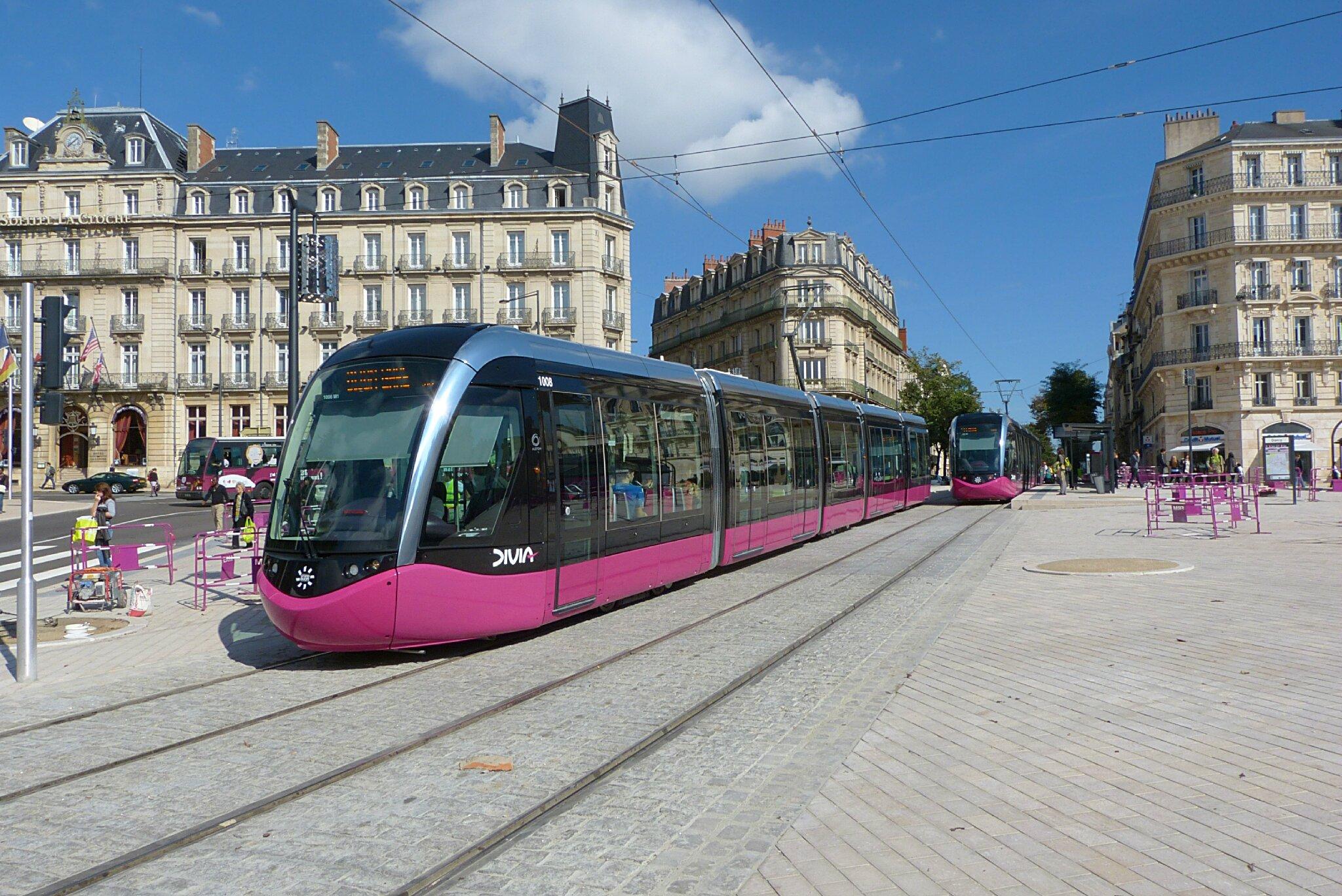 Amenagements urbains trolley