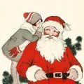 Père Noël. 38. Print Artist.