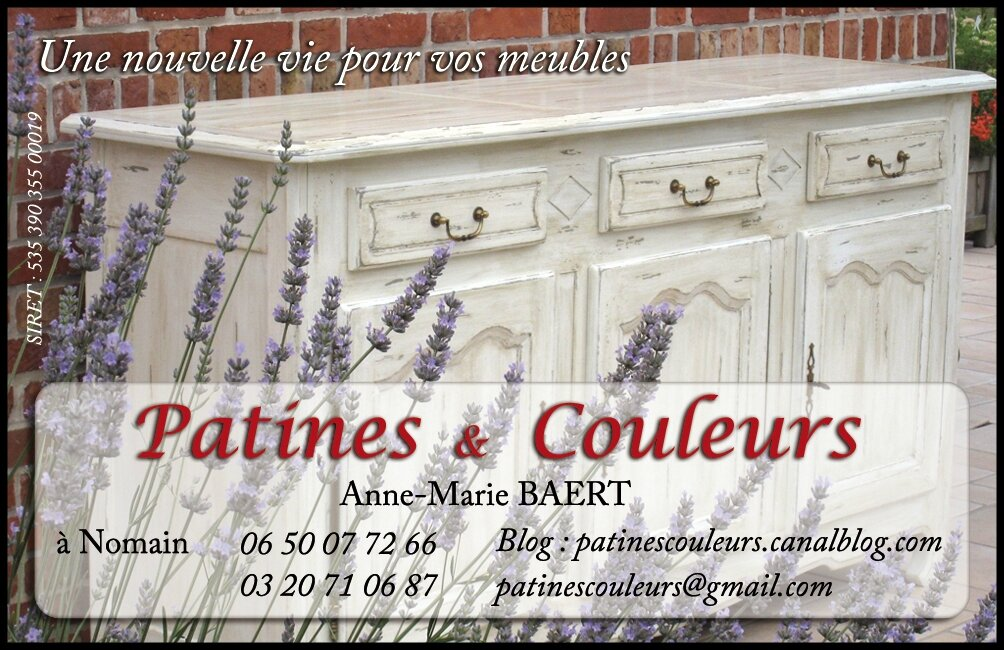 Meuble Tv Blanc Patine : Prestations De Patines – Patines & Couleurs