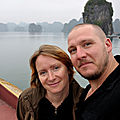 Baie d'Halong - Pose
