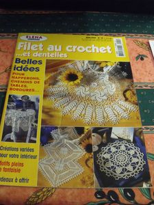 Elena filet au crochet n1 hors serie