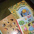 C'est l'été...petits achats et activités sensorielles diverses...