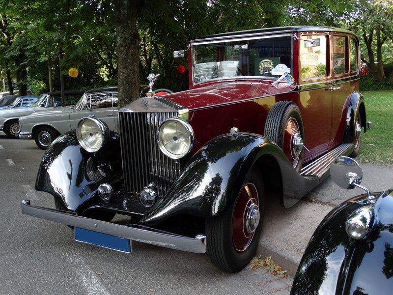 ROLLS ROYCE Phantom II limousine 1935 Baden Baden (1)