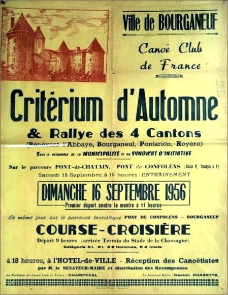 Affiche Bourganeuf 1956 web
