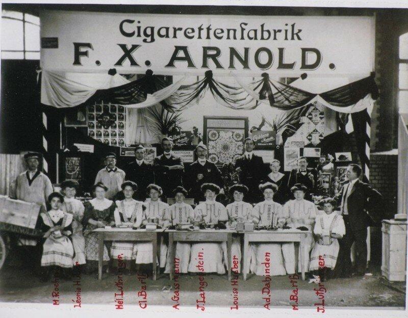Fabrique de cigarette ARNOLD en ALSACE