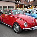 VOLKSWAGEN Coccinelle VW 1302 cabriolet Molsheim (1)
