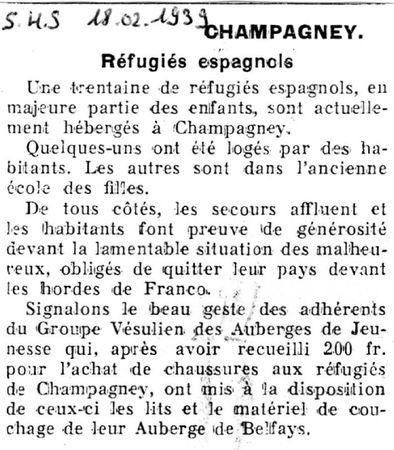 1939 02 18 SHS CHAMPAGNEY