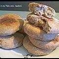 Muffin anglais au pain de seigle