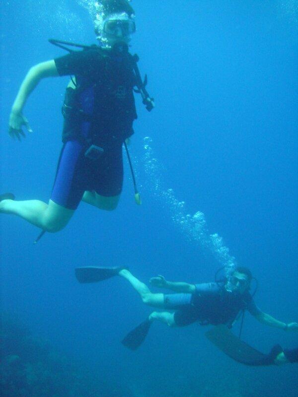 Nol et Phil plongée