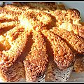 Gâteau aux pommes caramel beurre salé et fromage blanc
