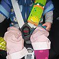 Le protège ceinture de sécurité de trunki