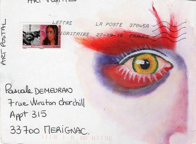 Mailart de Corinne Bererd 001