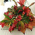 Petite compositions aux coloris d'automne