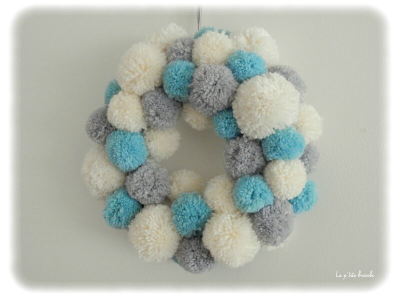 Couronne pompons 2