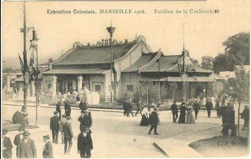 09. Exposition Coloniale Marseille 1906 pavillon de la Cochinch