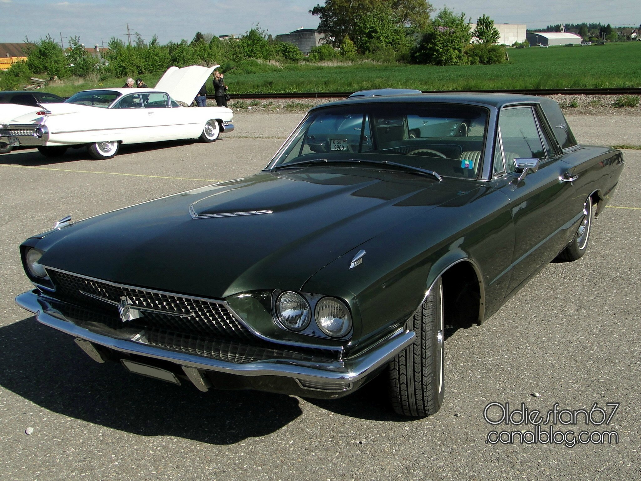 ford thunderbird hardtop coupe 1966 oldiesfan67 mon blog auto. Black Bedroom Furniture Sets. Home Design Ideas